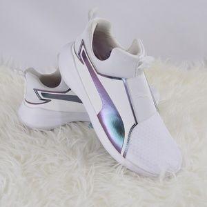 Puma Shoes - Puma Rebel Mid Swan White 7 1ab2dcc67